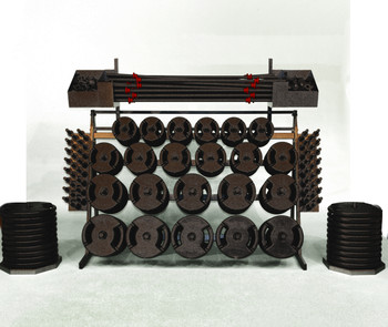 group fitness storage rack